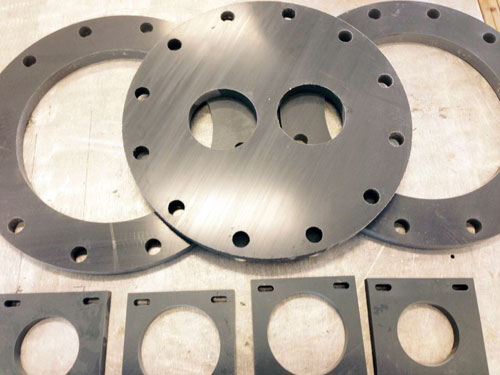 Able Plastics Waterjet Objects